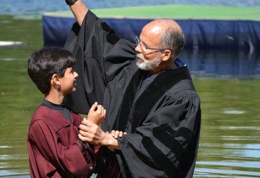 2017 Camp Meeting Baptisms