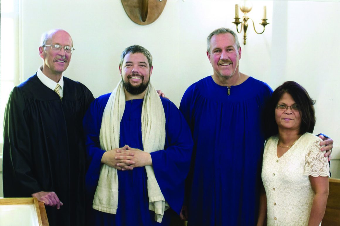 A Year of Baptisms