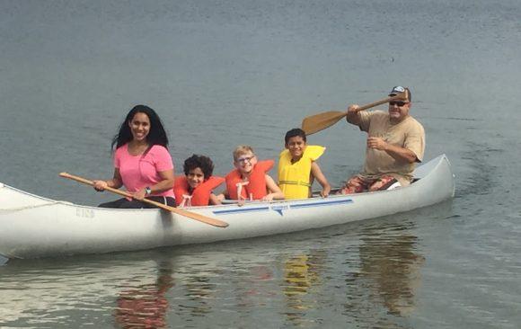 Waukesha Adventurers Go Canoeing