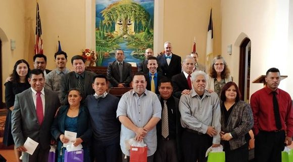 Five New Members Join Milwaukee Central Hispanic Church