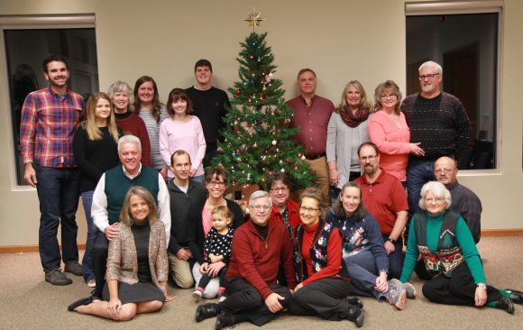 Merry Christmas From the Office Staff and Families