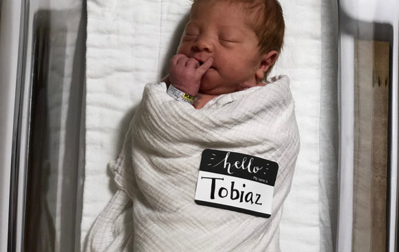 Baby Tobiaz Morino has Arrived
