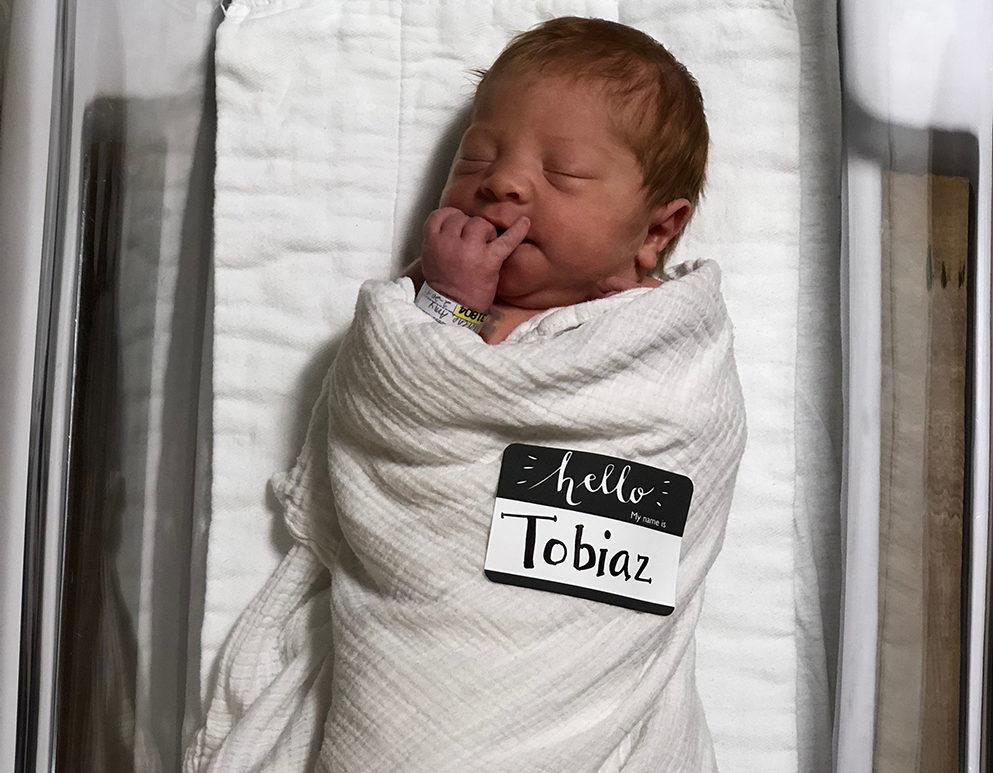 Baby Tobiaz Morino has Arrived