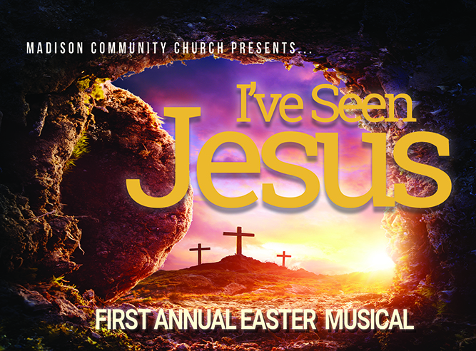CANCELLED: Madison Community Easter Musical April 10, 11