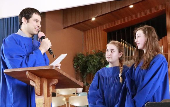 Lydia and Paris Choose to be Baptized