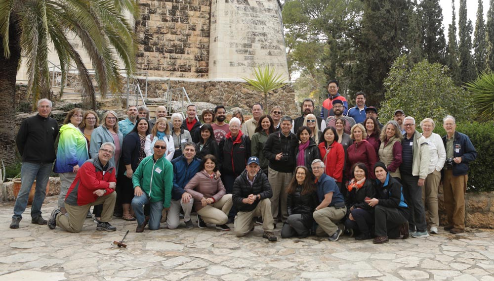 First Full Day in Israel for Wisconsin Conference Pastors