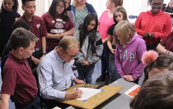 Education Fair Hosts Nathan Greene, Dick Stenbakken, County Sherif & K-9 Dog, Fire Department, and More