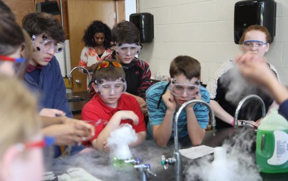 First Annual Science Expo for 7th-10th Grade Students
