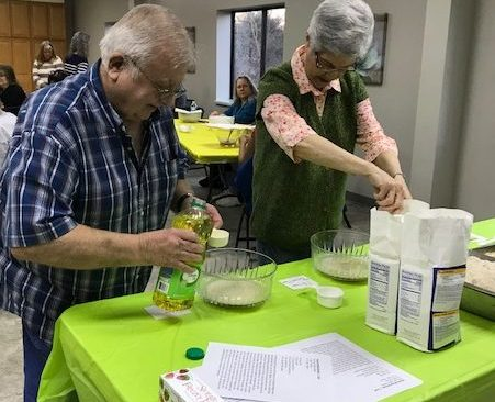 Madison East Church Holds Bread-Baking Class