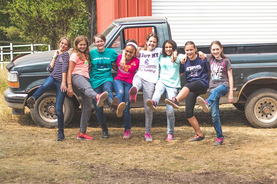 Grow Confident in Christ at Camp Wakonda