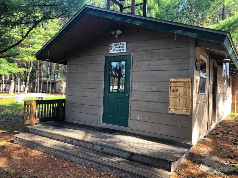 Pine Box Trading Company: New Name for Camp Store & Special Features