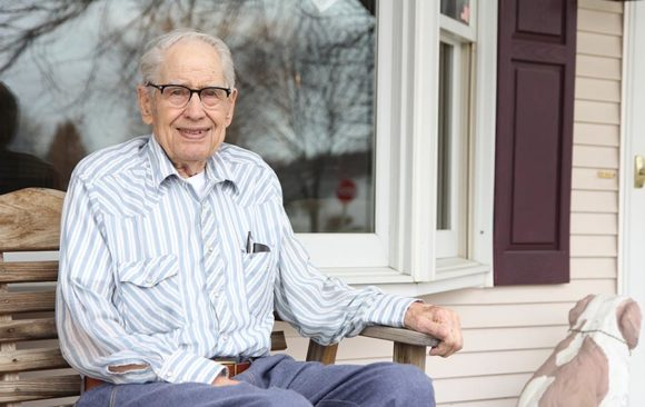 Life Lessons: Lawrence Hahn, Age 91  –  More Time with Jesus