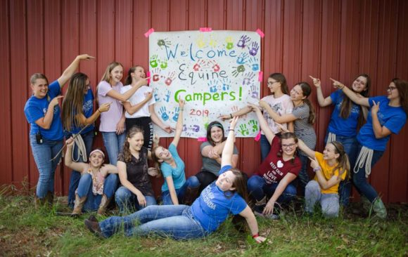 Summer Camp Begins with Equine Camp