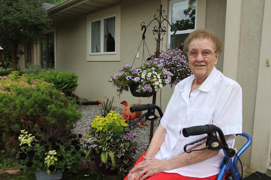 Life Lessons: Lucille Olsen, Age 100  – Jesus Keeps a Song in My Heart