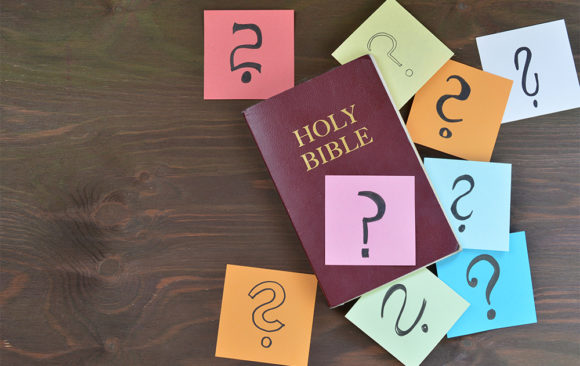 Editor's Note: Where Does the Bible Say That?