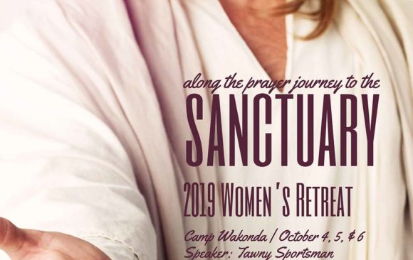 Register Now for Women's Retreat October 4-6, 2019