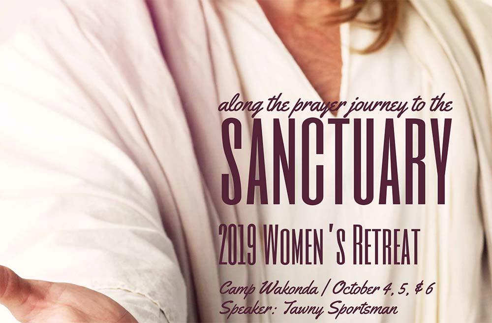 Register Now for Women's Retreat October 4-6, 2019