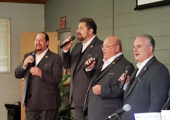 The King's Heralds Quartet Sings Locally