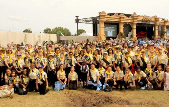 Wisconsin Pathfinders and Friends at the 2019 Oshkosh International Pathfinder Camporee