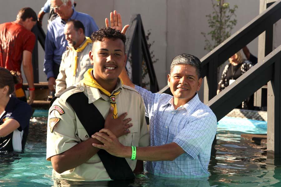 More Baptisms on Sabbath at Oshkosh Pathfinder Camporee