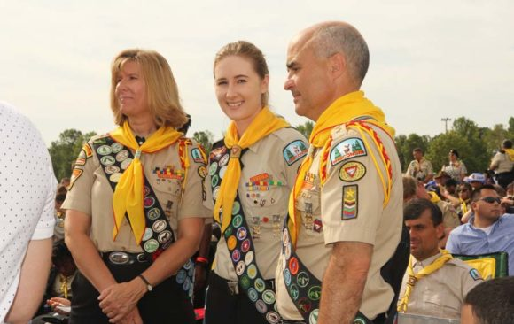 Six New Master Guides Invested During Oshkosh International Pathfinder Camporee