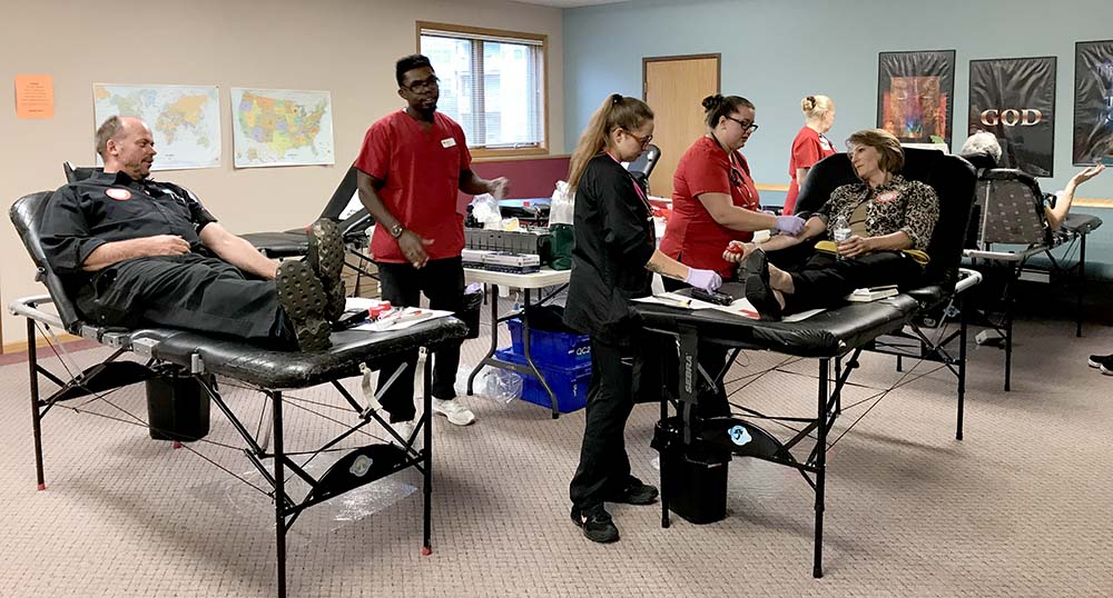 Red Cross Blood Drive Collects 28 Units at Madison East