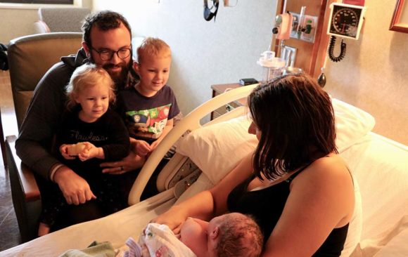 Pastor Zack Payne and Allison Welcome Walter William to Their Family