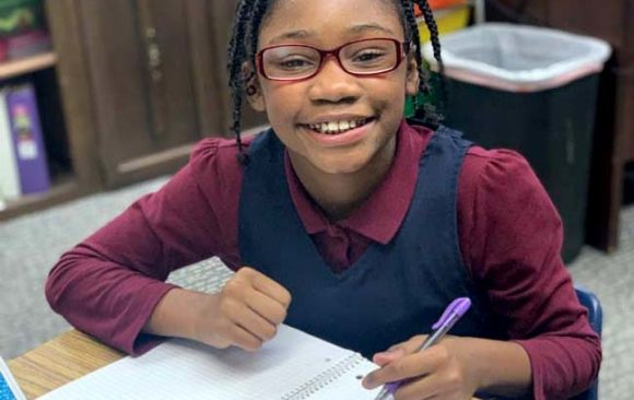 Budding Authors in Milwaukee School's Third and Fourth Grade Classroom