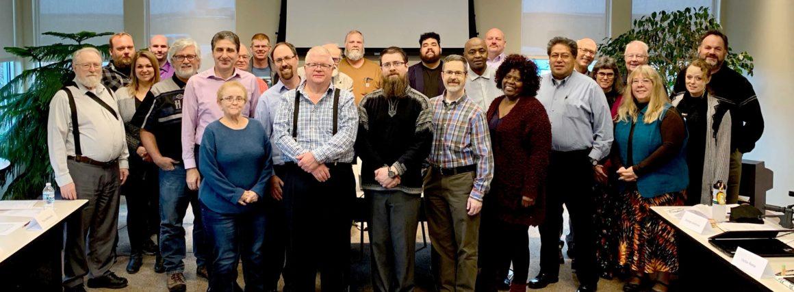 November Lay-Pastor Training Report