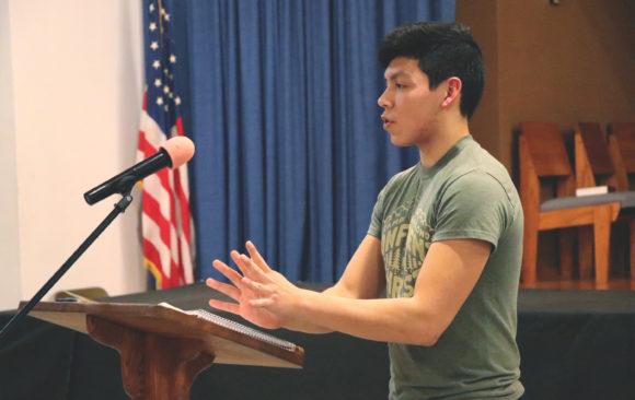 Wisconsin Academy Students Speak for Week of Prayer