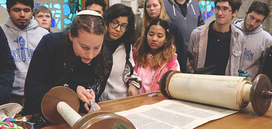 Wisconsin Academy Seniors Visit Four Houses of Worship