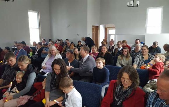 Wautoma Celebrates First Sabbath in New Church Building
