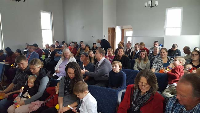 Wautoma Celebrates First Sabbath in New Church Building