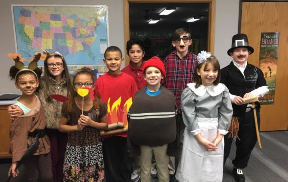 Three Angels Christian School Thanksgiving Costume Tradition Lives On!