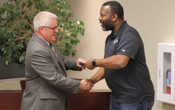 Wisconsin Employees Recognized for Years of Service at December Pastor's Meetings