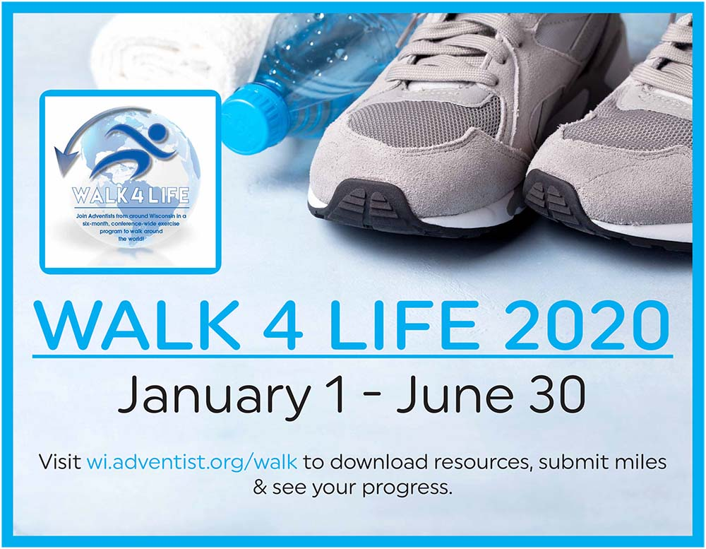 Walk for Life Begins January 1