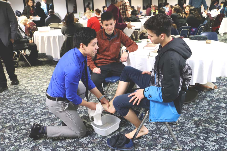 Wisconsin Academy and Church Celebrate Agape Feast Together