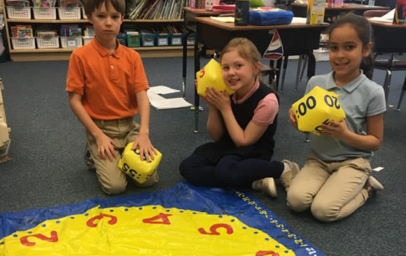 Green Bay Second Graders are Learning to Tell Time