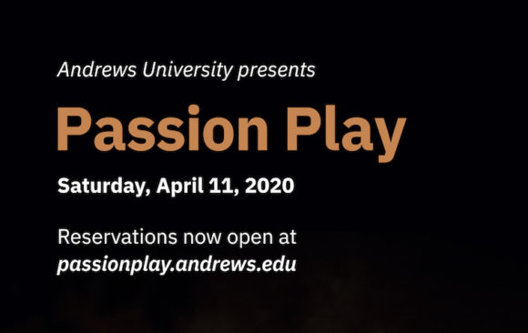 Easter Passion Play at Andrews University April 11