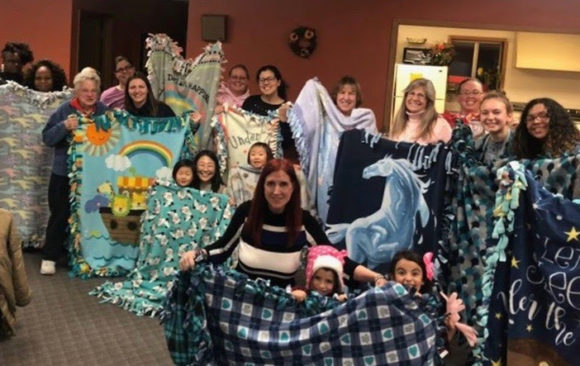 Waukesha Women's Ministry Makes Blankets for Community