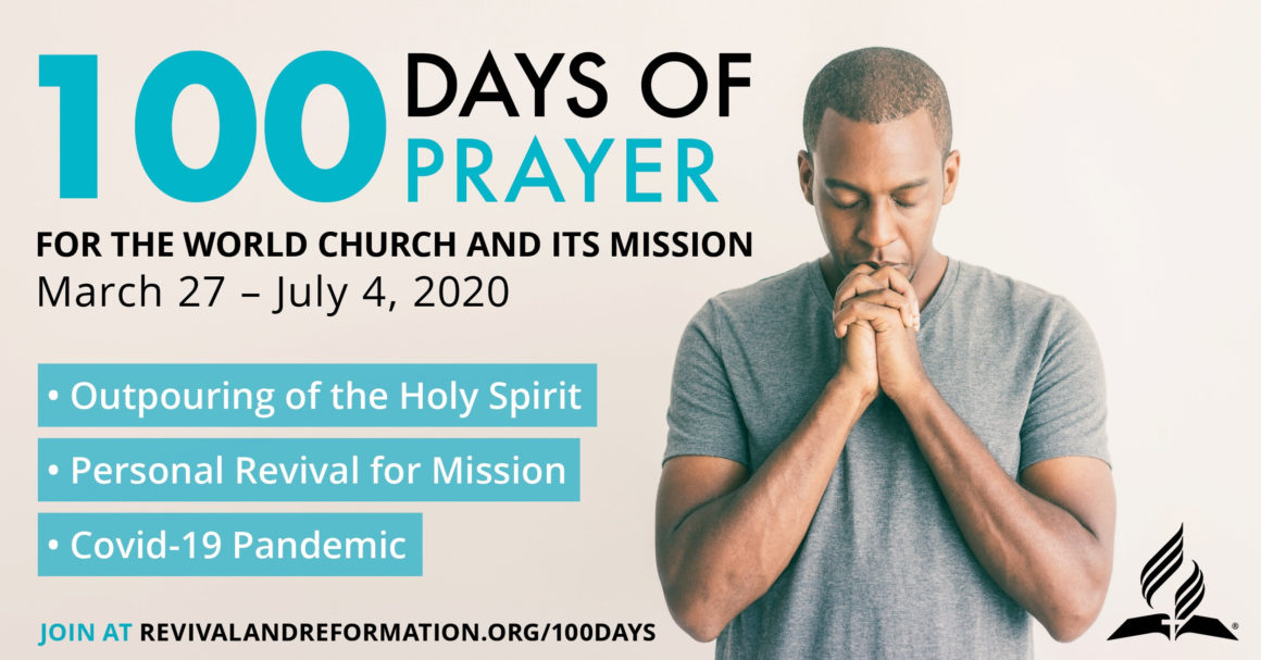Join Our World Church Family for 100 Days of Prayer