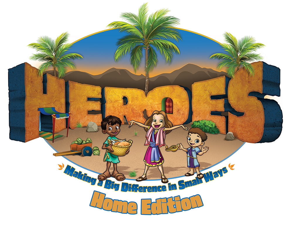 VBS Heroes Home Edition – Coming July 6-10!