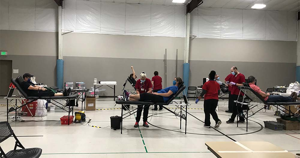 Madison East Holds Blood Drive