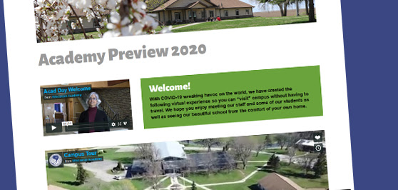 """Experience """"Wisconsin Academy Preview"""" Online"""