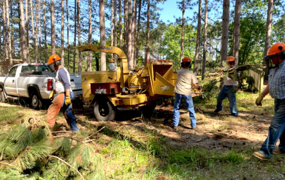 Invitation to Help Camp Wakonda With Forestry Cleanup