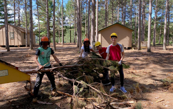Join Volunteers With Camp Wakonda Forestry Clean-Up