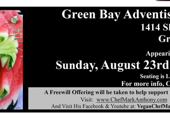 Chef Mark Anthony Coming to Green Bay August 23