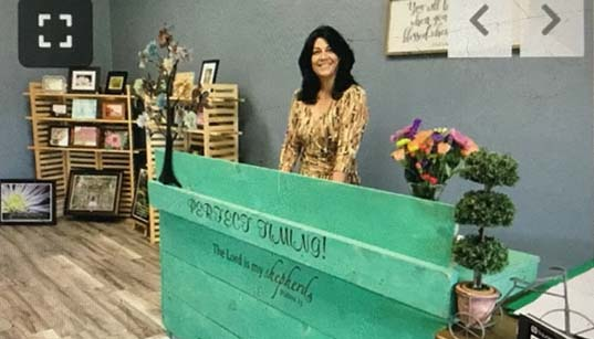 Women's Ministries Visit Perfect Timing Gift Shop