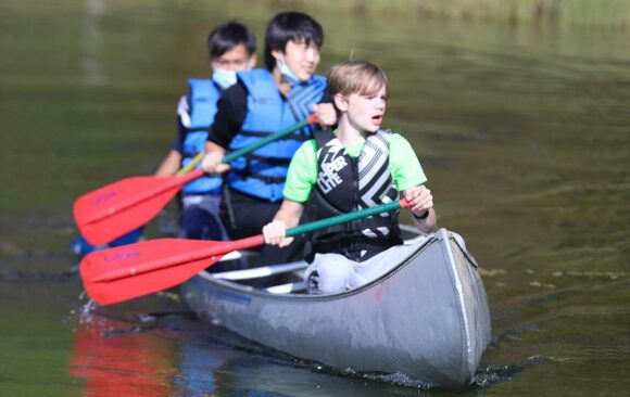 A Weekend at Camp Sagola for Wisconsin Academy Students