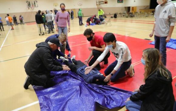 Wisconsin Academy Students Receive CERT Training